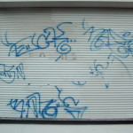 Roldeur graffiti